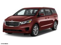 For a smoother ride, opt for this 2015 Kia Sedona LX