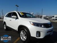 Safe and reliable, this pre-owned 2015 Kia Sorento LX