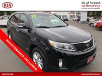 Check out this 2015 Kia Sorento EX. Its Automatic