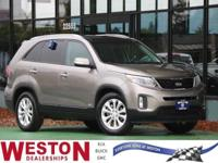 2015 Kia Sorento EX Gray Fresh Oil Change, AWD, 4-Wheel