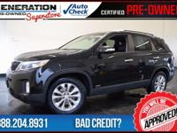 2015 Kia Sorento. Gasoline! All Wheel Drive! Kia has