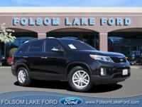 CARFAX One Owner. Clean CARFAX. Black 2015 Kia Sorento