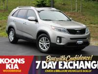 2015 Kia Sorento LX Satin Metal **HEATED LEATHER