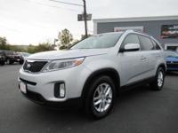 New Price! 2015 Kia Sorento LX Silver AWD **NEW