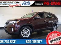 AWD and 2015 Kia Sorento. Isn't it time for a Kia?!