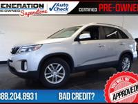 Kia Certified, AWD, and 2015 Kia Sorento. What are you