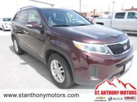 This Kia Sorento has a 3.3 liter V6 Cylinder Engine