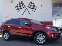 Options:  2015 Kia Sorento Lx Awd 4Dr Suv