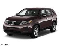 Make sure to get your hands on this 2015 Kia Sorento LX