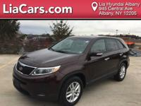 **ONE OWNER, CLEAN CARFAX**, 2015 Kia Sorento LX, and