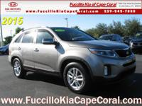 This outstanding example of a 2015 Kia Sorento FWD 4dr
