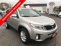 Come see this 2015 Kia Sorento LX. Its transmission and