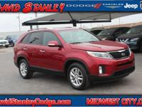 CARFAX One-Owner. Clean CARFAX. Red 2015 Kia Sorento LX