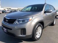 CARFAX One-Owner. 2015 Kia Sorento LX Gray One Owner,