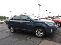 CARFAX One-Owner. Wave Blue 2015 4D Sport Utility Kia
