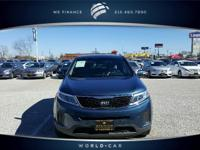 Wave Blue exterior and Gray interior, LX trim. CARFAX