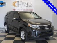Options:  2015 Kia Sorento Lx|Black|Priced Below Kbb