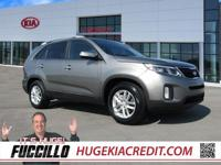 Remaining Factory Warranty, Kia Certified, Sorento LX,