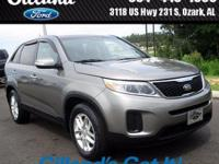 New Price! CARFAX One-Owner.  2015 Kia Sorento LX FWD