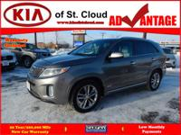 Options:  2015 Kia Sorento Sx|Awd Sx 4Dr Suv|3.3L|6