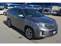 We are excited to offer this 2015 Kia Sorento. CARFAX