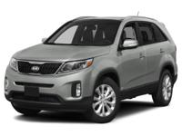 Climb inside the 2015 Kia Sorento! It comes equipped