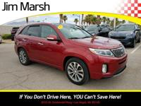 Step into the 2015 Kia Sorento! It just arrived on our