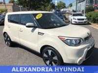 New Price! 2015 Kia Soul Exclaim Clear White 2015 Kia