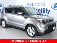 CARFAX One-Owner. Clean CARFAX. Titanium Gray 2015 Kia