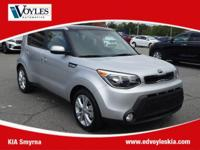 2015 Kia Soul Plus Bright Silver CarFax 1 Owner, 10-Way