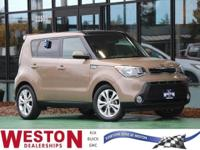 CARFAX One-Owner. 2015 Kia Soul Plus Brown One Owner,