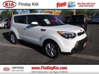 CARFAX 1-Owner, Kia Certified, LOW MILES - 10,931! EPA