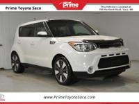 Clean CARFAX! CARFAX One-Owner! 2015 Kia Soul Exclaim