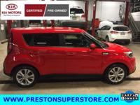 Options:  2015 Kia Soul Plus|Red|***  One Owner Clean