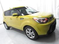 2015 Kia Soul Plus Yellow Recent Arrival! Clean CARFAX.