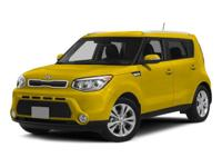 Boasts 31 Highway MPG and 23 City MPG! This Kia Soul