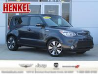 Options:  2015 Kia Soul Base|Gray|Carfax 1 Owner And