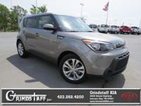 This outstanding example of a 2015 Kia Soul + is