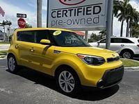 2015 Kia Soul Plus in Solar Yellow, *KIA Certified*,