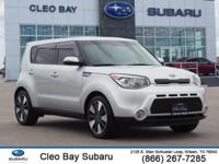 CARFAX One-Owner. Clean CARFAX. Bright Silver 2015 Kia
