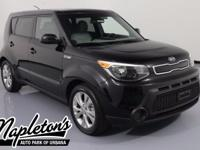 Recent Arrival! 2015 Kia Soul in Black, AUX CONNECTION,