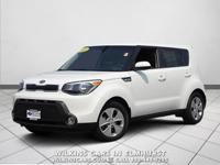 2015 Kia Soul Clear White FWD 6-Speed Automatic 1.6L I4