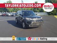 Black 2015 Kia Soul 6-Speed Automatic FWD 1.6L I4 DGI
