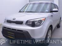 EPA 30 MPG Hwy/24 MPG City! Bright Silver exterior and