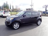 This 2015 Kia Soul Base features a anti-lock brakes and