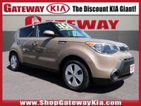 Recent Arrival! Clean CARFAX.Certified. Brown 2015 Kia