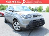 New arrival! 2015 Kia Soul Base! Only 42,631 miles!