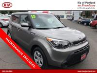 Check out this 2015 Kia Soul Base. Its Manual