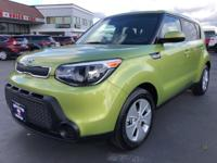 CARFAX One-Owner. 2015 Kia Soul Green 4-Wheel Disc