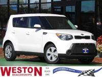 CARFAX One-Owner. 2015 Kia Soul White One Owner, Fresh